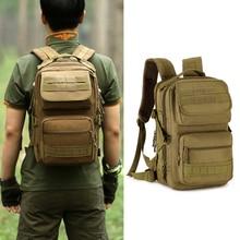 25L Mochila Táctica Militar Mochila MOLLE Gear Bolsa de La Escuela Paquete de Asalto Mochila Para La Caza Que Acampa Senderismo Viajes 094