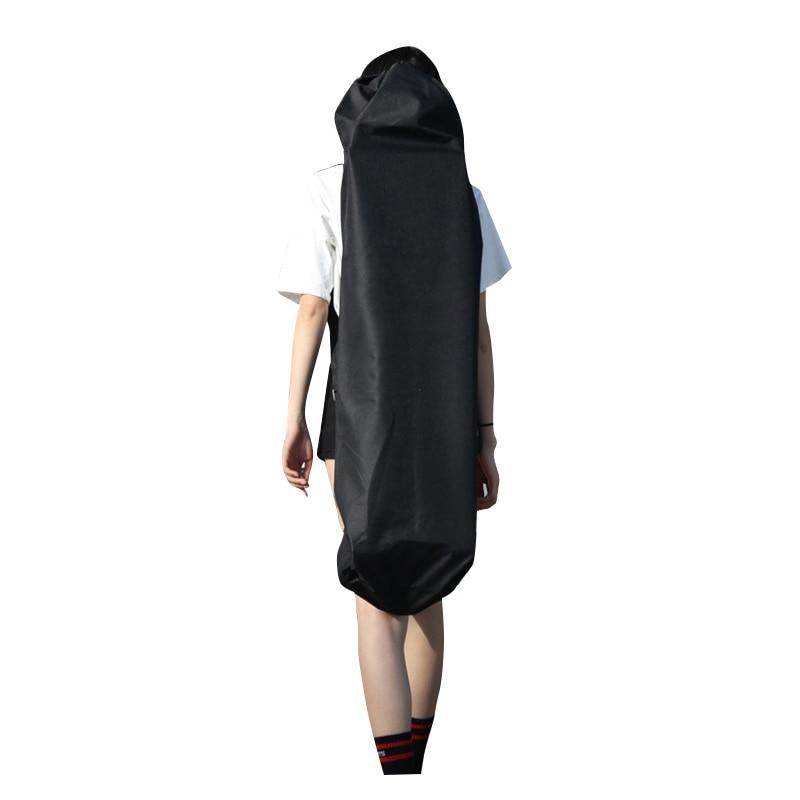 New 120Cm Long Skateboard Bag Oxford Cloth Skateboard Bag 46 Inch Skateboard Carrying Case Shoulder Travel Longboard Backpack