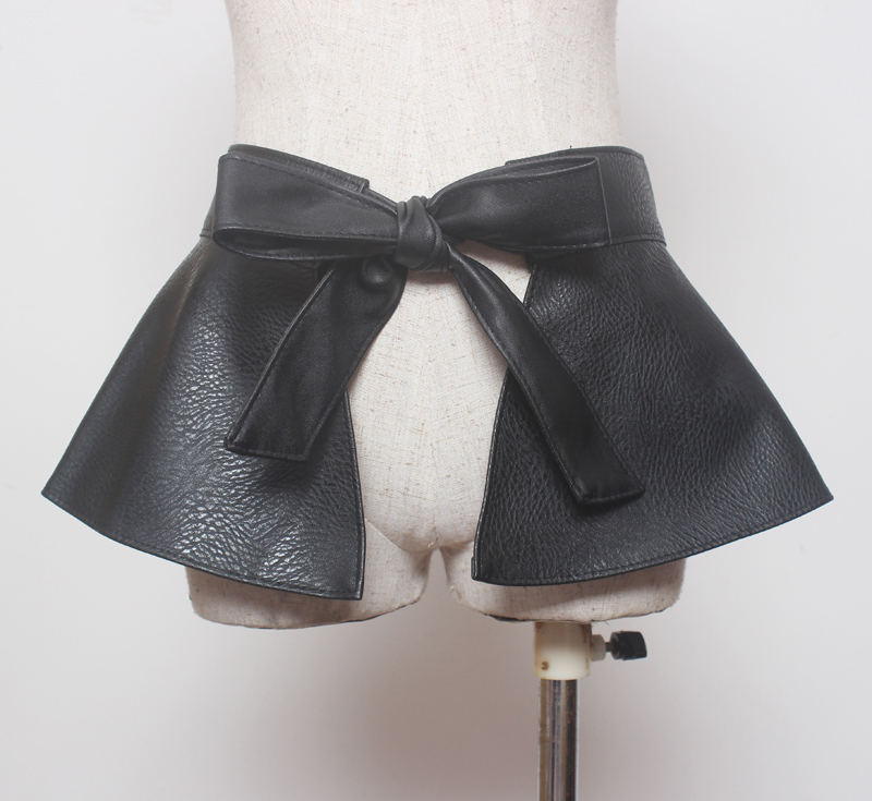 Fashion women Dress Look Leather Belt lady designer belts ceinture femme bow tie belt cute women girdle
