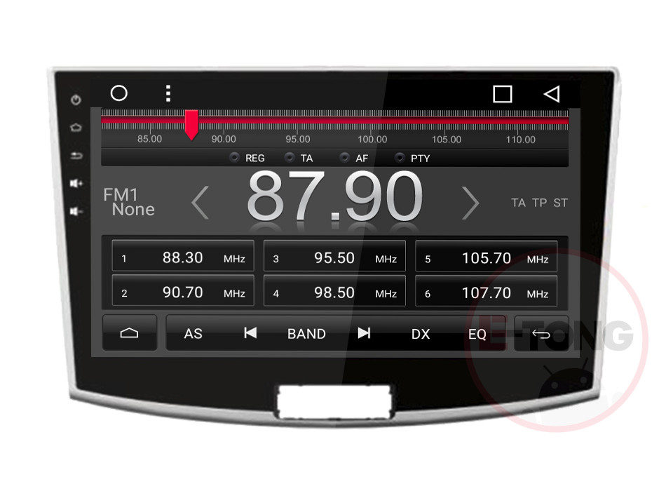 "10.1""1024*600 Andriod 6.0 Car DVD for Magotan/Passat CC 2012 -2015 Auto GPS Navi 3G Wifi Radio Stereo Video Audio AUX BT"