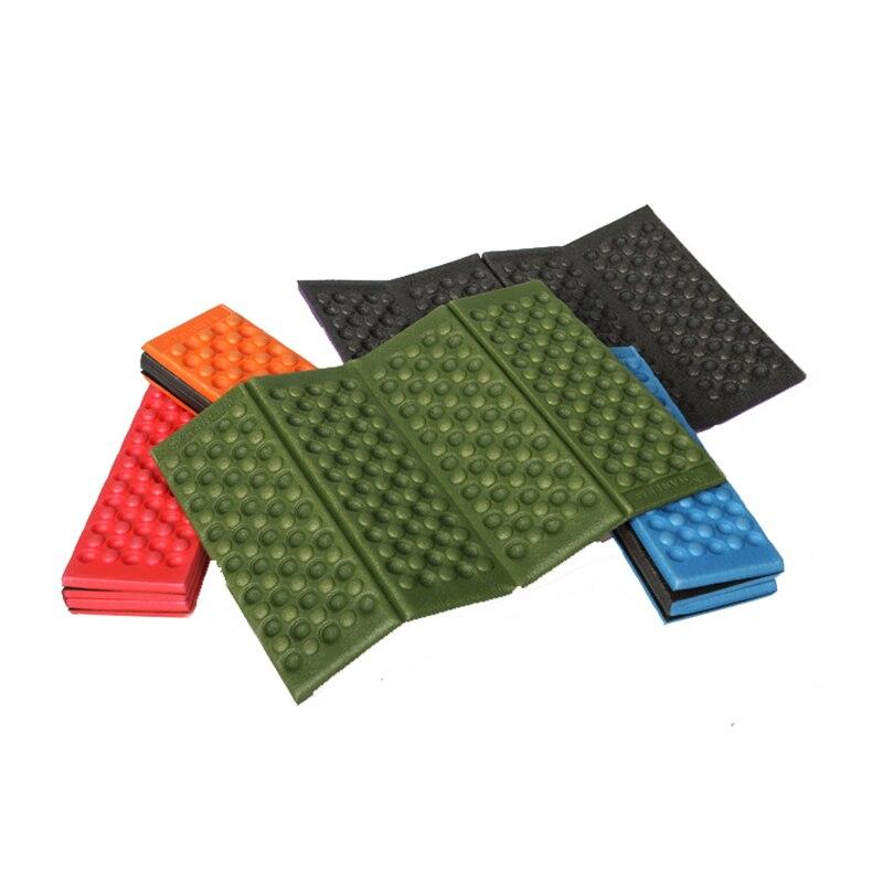 Portable Light Waterproof Outdoor Seat Cushion Durable Travel Hiking Picnic Camping Mat Folding Moisture-proof Cushion Pad