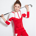New 2017 Spring Hoodies Suits Brand Women's tracksuits Suit Female Runway Sportswear Womens Suit Costumes Set