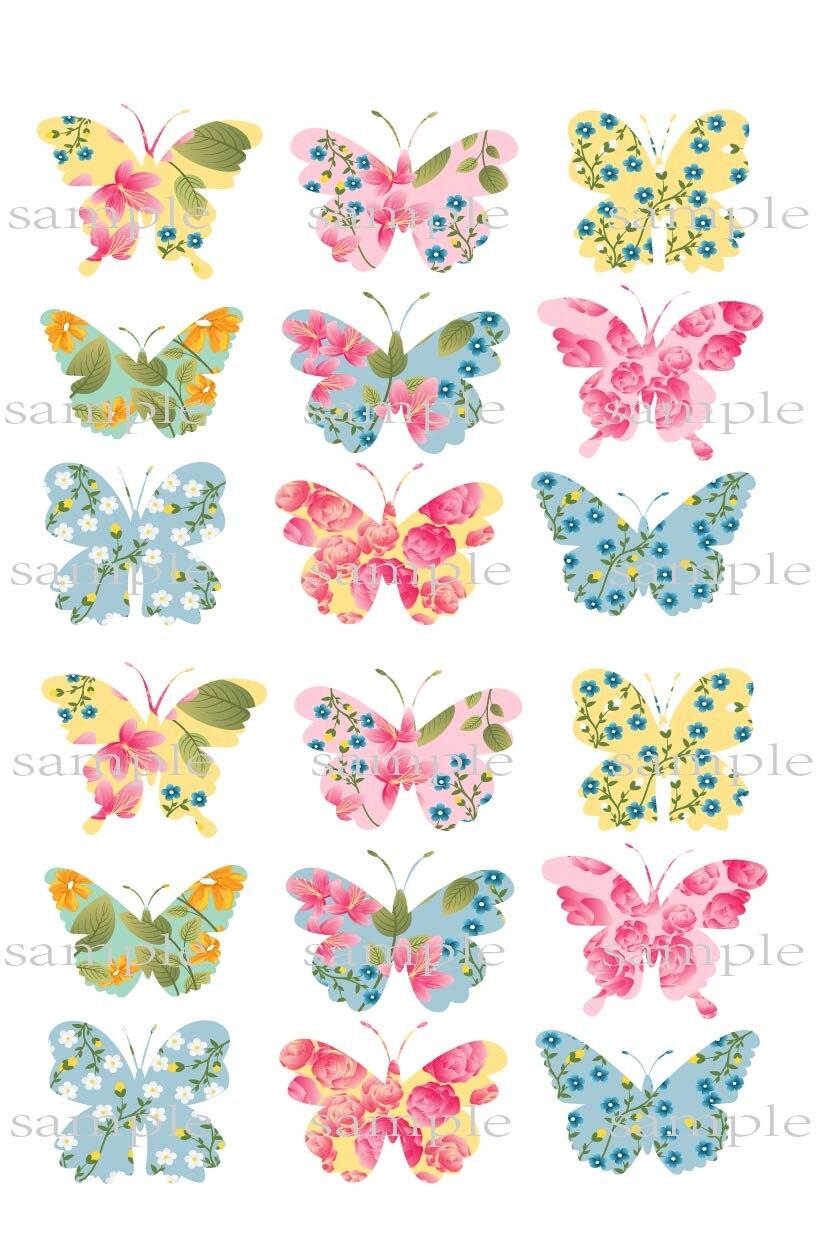 Online kopen Wholesale Eetbare vlinders taart decoraties