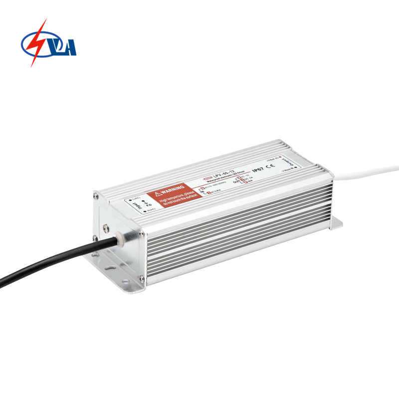 LPV-60 12V 24VDC 5A LED Waterproof 60w led power supply  AC220V meanwell 12v 60w ul certificated lpv series ip67 waterproof power supply 90 264v ac to 12v dc