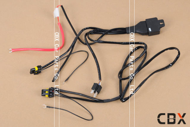 Online shop high quality v w hid bi xenon h wire harness