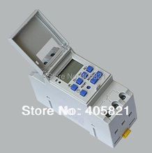 THC15A Digital LCD Weekly Programmable Timer AC 220V Time Relay Switch