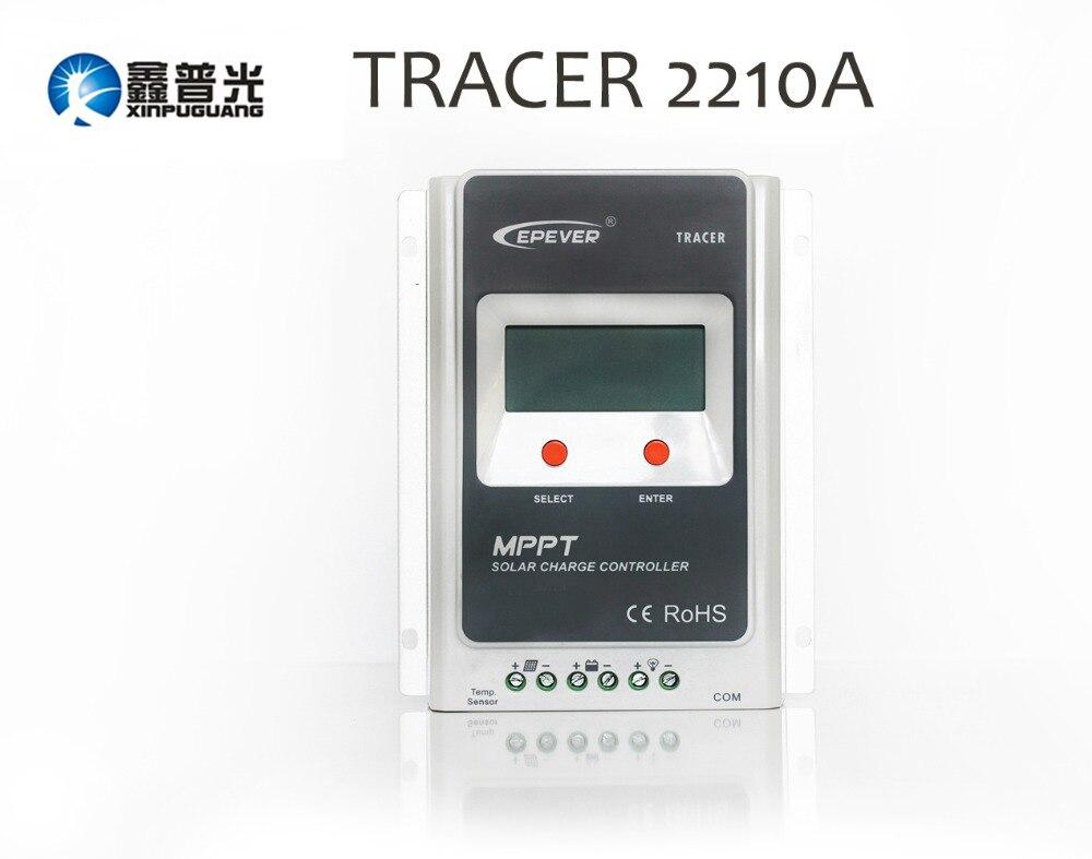 все цены на Xinpuguang Tracer1210A MPPT 12v/24v/10A Panel System Solar Charge Controller LED Display EPEVER Regulators онлайн