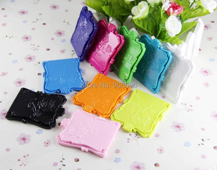Liefern 10 Stücke Vintage Rose Kosmetische Kompakte Spiegel Elegante Marke Anna Su Tragbare Tasche Kosmetikspiegel Geschenk Für Königin-freies Verschiffen Billigverkauf 50% Schönheit & Gesundheit