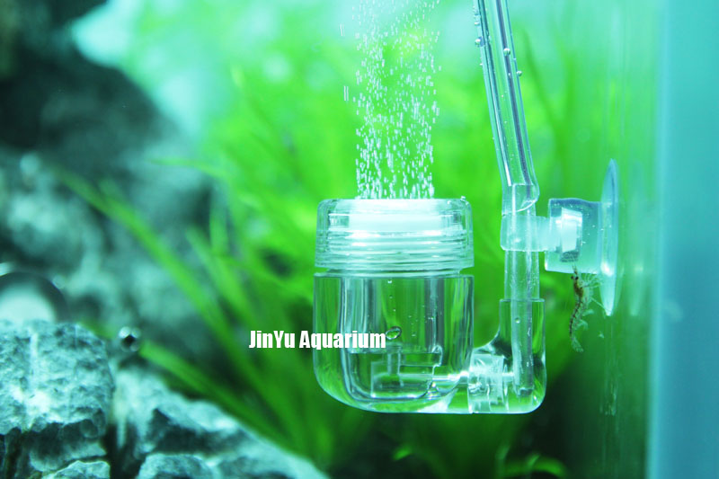 Pssopp Difusor de CO2 Acr/ílico Transparente CO2 Atomizador Contador de Burbujas con Tubo de conexi/ón en Forma de U para Plantas de Acuario Agua Hierba