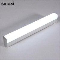 1 Pcs Smuxi Wall Light 16W 22W AC85 265V LED Mirror Front Light High Power Aluminium