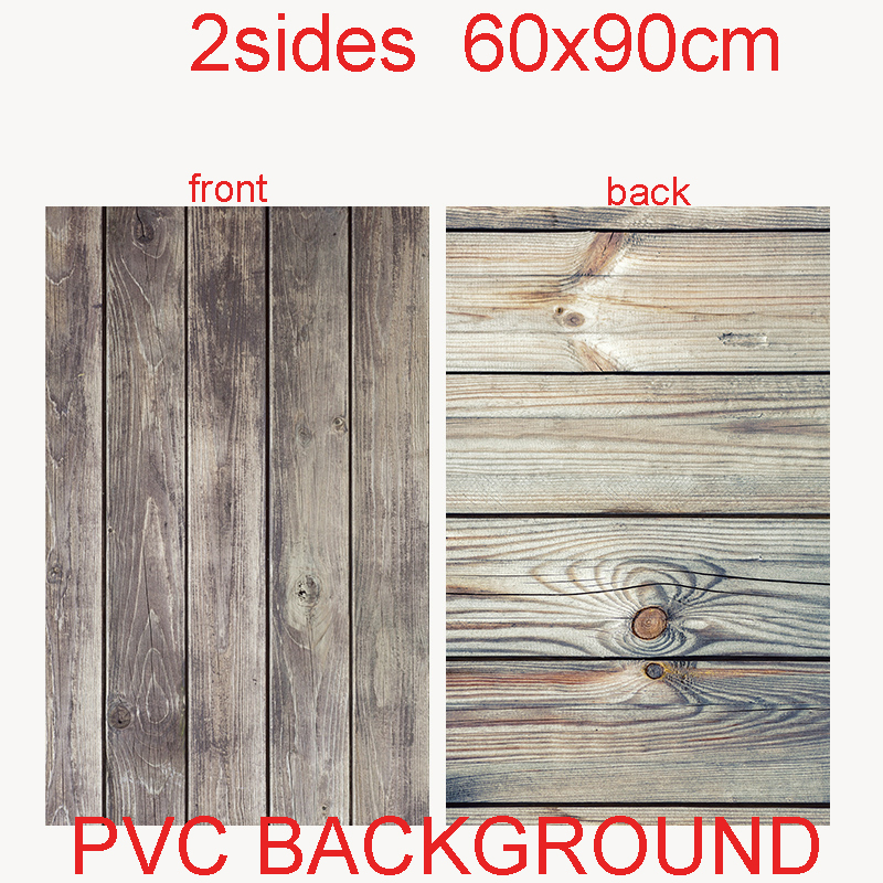 60X90cm 2sides 24color PVC Photography Backdrops Waterproof Premium Marble Texture Background For Photo Food Jewelry Mini Items(China)