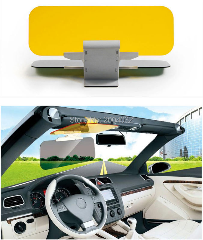 Car styling Sun visor Safety Drive accessories FOR Honda Civic Accord CRV Fit Renault Peugeot 307 206 407 308 406 accessories