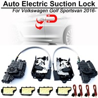 CARBAR Smart Auto Car Electric Suction Door Lock for Volkswagen VW Golf Sportsvan Soft Close Super Silence Self priming Door