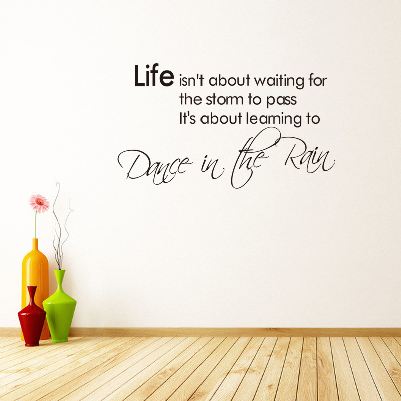 Life sticker Wholesale waterproofing can be removed Bedroom living room home decor pvc Generation wall stickers