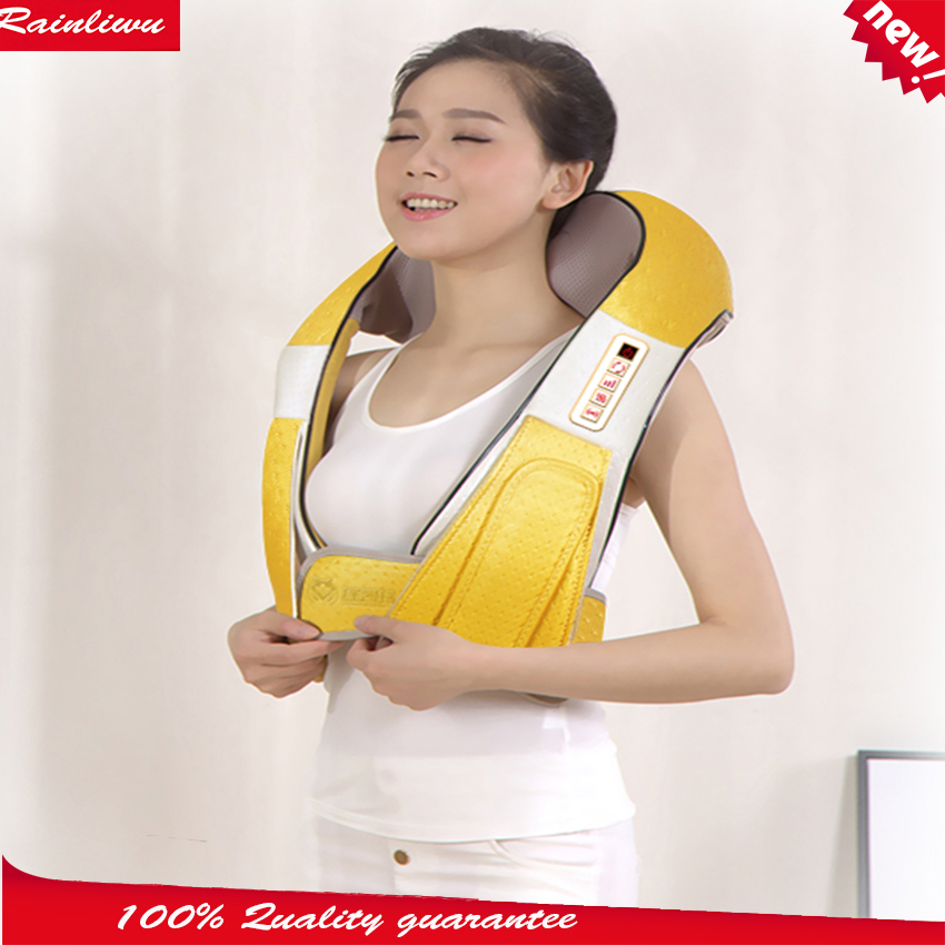 ФОТО Massage shawl Malaxation Neck shoulder massage cape Cervical vertebra massage device muti-function Electric massage instrument