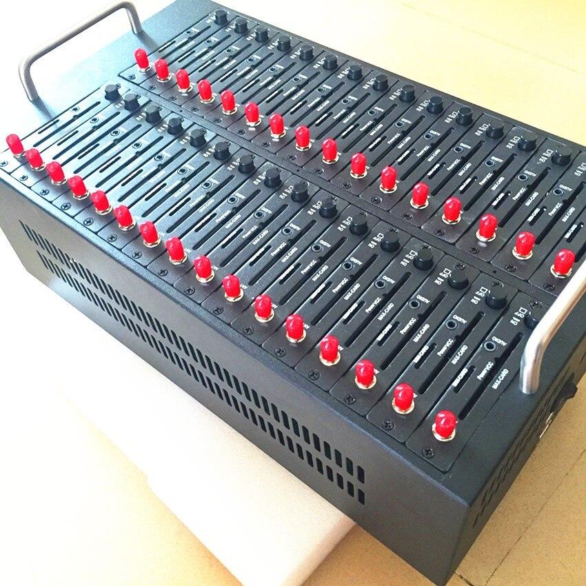 Смс программного обеспечения USB Wavecom Q2303 32 Порты GSM модем бассейн 900/1800 мГц 32 сим-карта USSD СТК зарядки