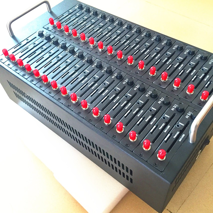 En vrac SMS Logiciel USB Wavecom Q2303 32 Ports GSM Modem Piscine 900/1800 mhz 32 sim carte USSD STK recharge