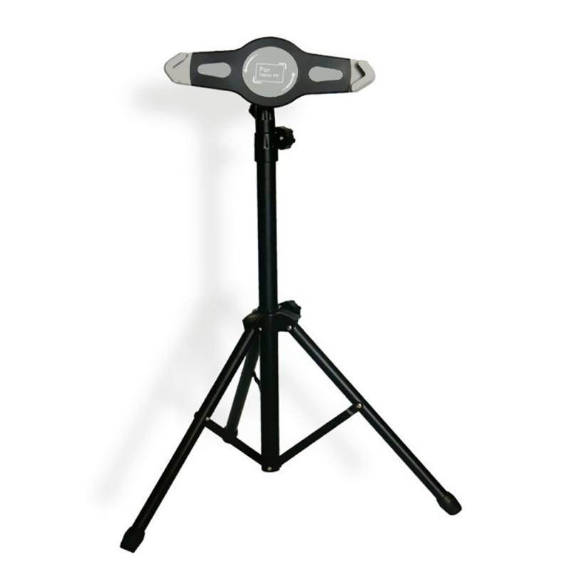 New Tablet Lazy Stand Adjustable Floor Mount Stand Tripod Holder For iPad 2 3 4 Mini Air Tablet Accessories