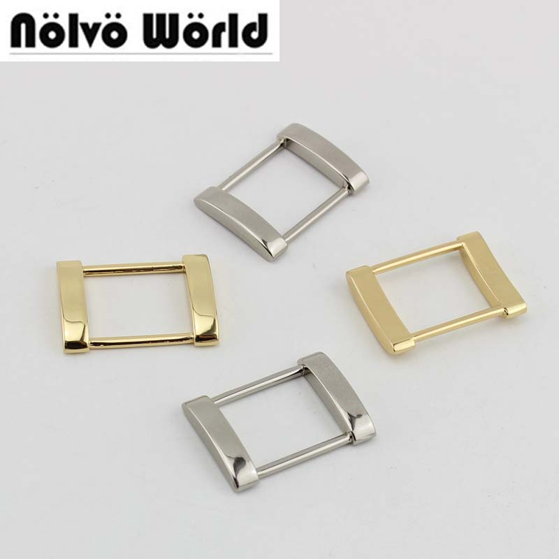 50pcs 4 Colors 1 Inch 25*20mm 2.5cm Alloy Hand Made Bags Metal Fitting Hardware Accessory Buckles