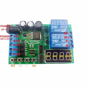 Image 3 - 5V 9V 12V 24V DC/AC Motor Controller Relay Board Forward Reverse Control Automatic Timing Delay Cycle Limit Start Stop Switch