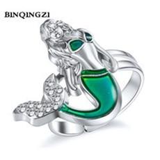 GEOMEE-1PCS-Bague-Femme-Mood-Ring-Thermochromic-Mermaid-Rings-Adjustable-Accessoires-Rhinestone-Enamel-Womens-Party-Jewelry