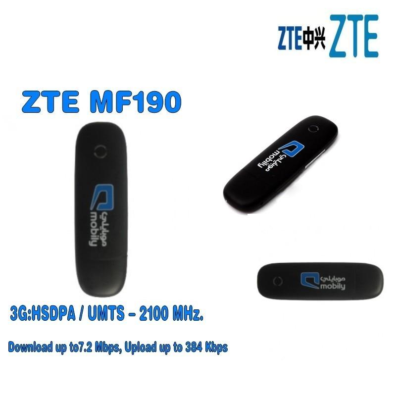 Izvirno odklepanje 7,2 Mb / s ZTE MF190 HSDPA 3G USB MODEM in 3G USB Dongles