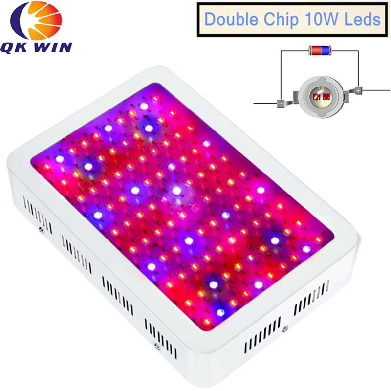 Hydroponics 1000W LED Plant Grow Light Full Spectrum 100x10W Double Chip LED Grow Lights For Indoor Plants Flowering And Growing