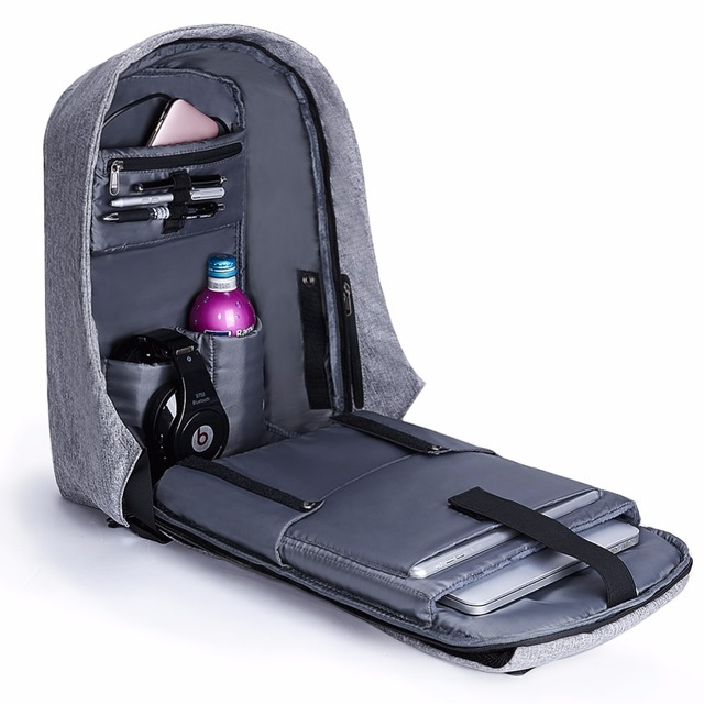 Kalidi 17.3 дюймов Anti-Theft ноутбук рюкзак Для мужчин USB зарядка Тетрадь рюкзак для подростков Для женщин Водонепроницаемый ноутбук сумка 15.6 дюймов  Рюкзак рюкзаки для девочек подростков рюкзак мужской