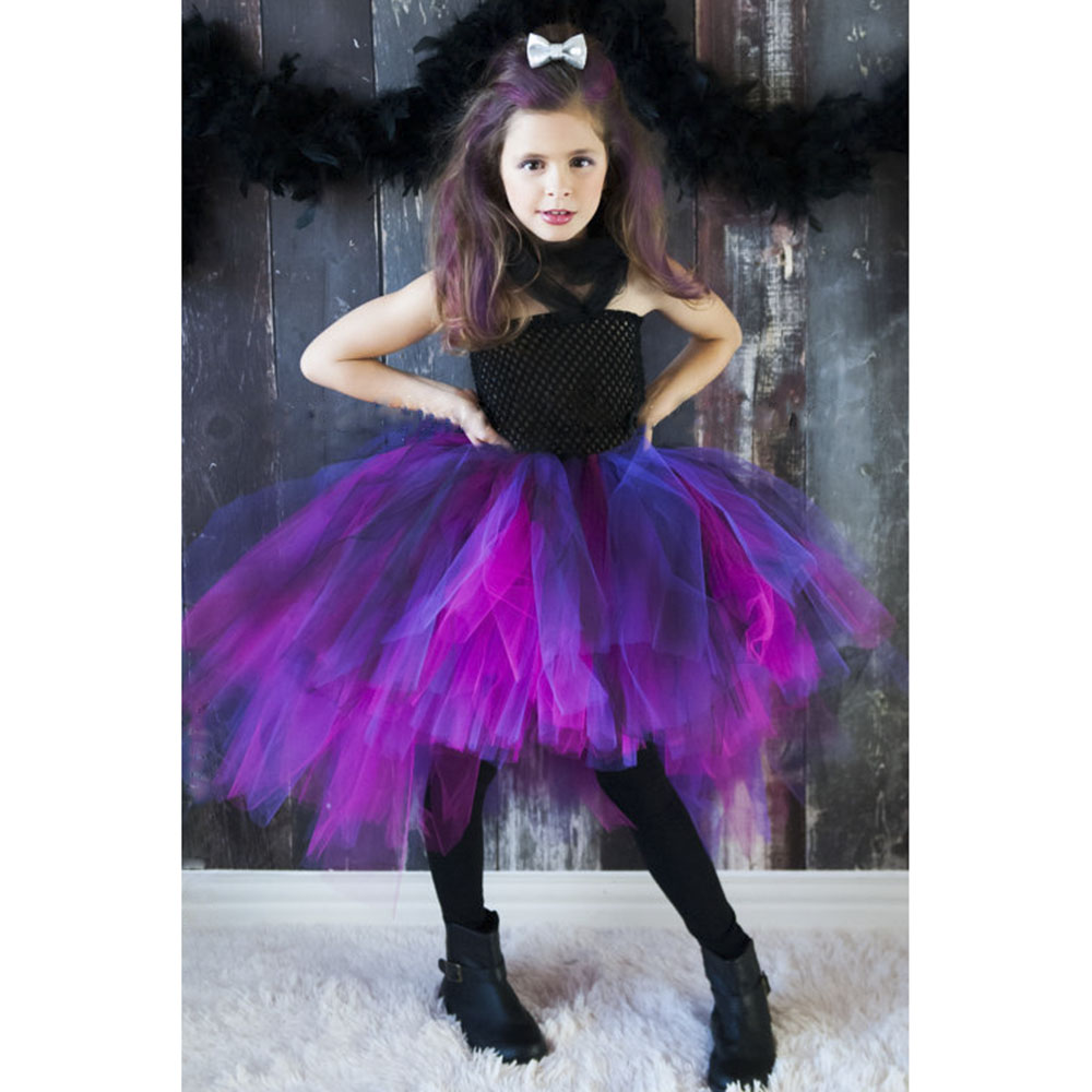 girls clothes wild queen tutu dress birthday outfit photo prop halloween costume little girls dress for cosplay pt314in dresses from mother u0026 kids on