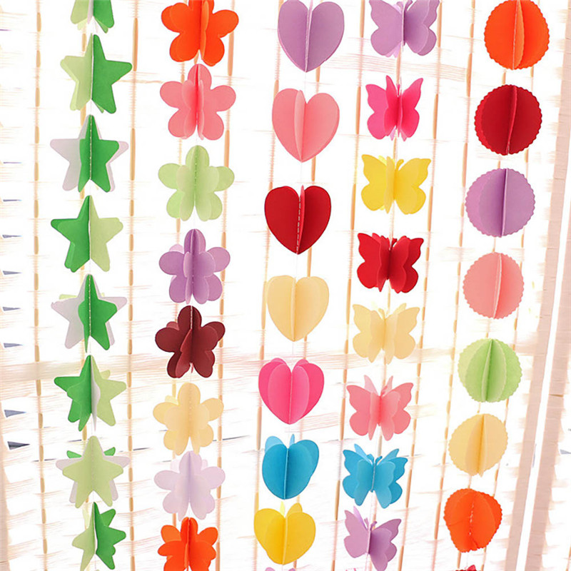 Hibiscus Hanging Strings 2 1m Hawaiian Decoration