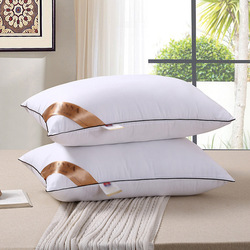Hoiime Winter Elastic Pillow Insert Pillow Inner Sleeping White Pillow Neck Health Care Bedding Memory Pillow for Bed 48*74cm