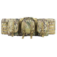 Outdoor Camouflage Hunting Bags Two Rifles Double Carbine Case Dual Large 364247 for CS Gun Shooting Paintball Hunting Bags