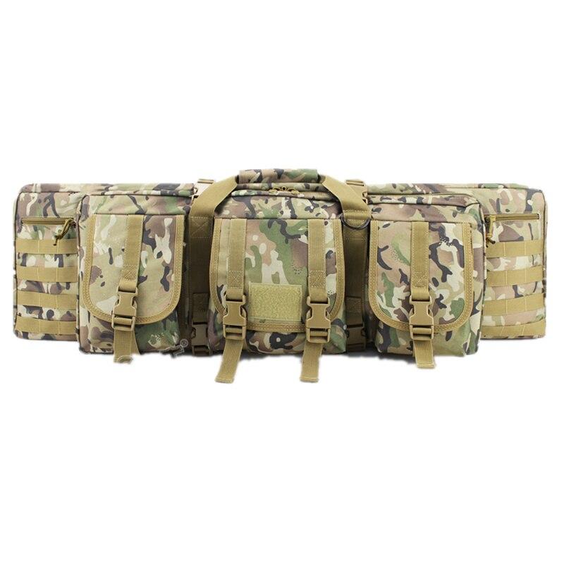 """Sacs de chasse Camouflage extérieur deux fusils Double carabine Double grand 36 """"42"""" 47 """"pour CS Gun Shooting Paintball sacs de chasse"""