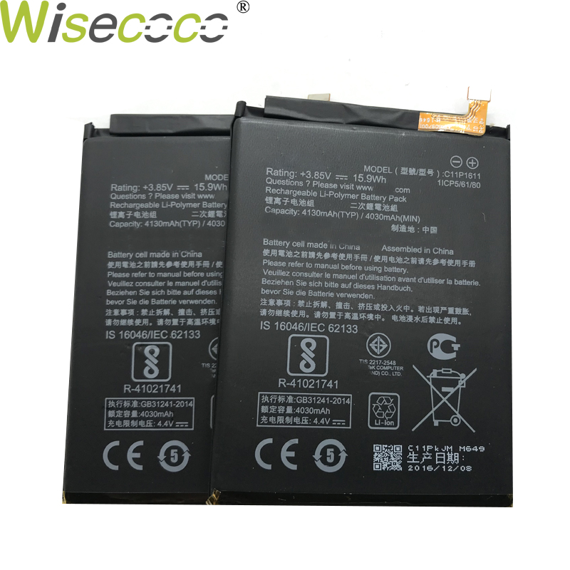 Mobile Phone Parts Amicable Wisecoco New Original 4130mah C11p1611 Battery For Asus Zenfone 3 Max Z3 Max Zc520tl X008db Pegasus 3 X008 X008d Z01b Phone Skilful Manufacture Cellphones & Telecommunications