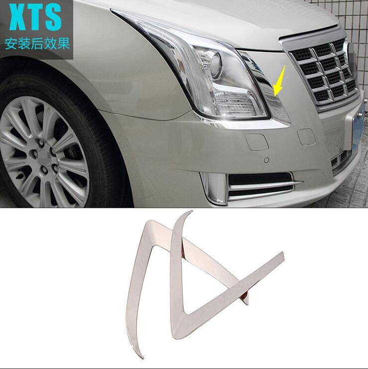 Car Styling Case For Cadillac XTS 2013 2016 Stainless