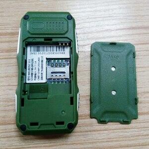 Image 4 - メルローズミニ軍事ポケットバー電話ロングスタンバイビッグ音声懐中電灯 fm シングル sim 最小サイズスペア携帯電話 P105