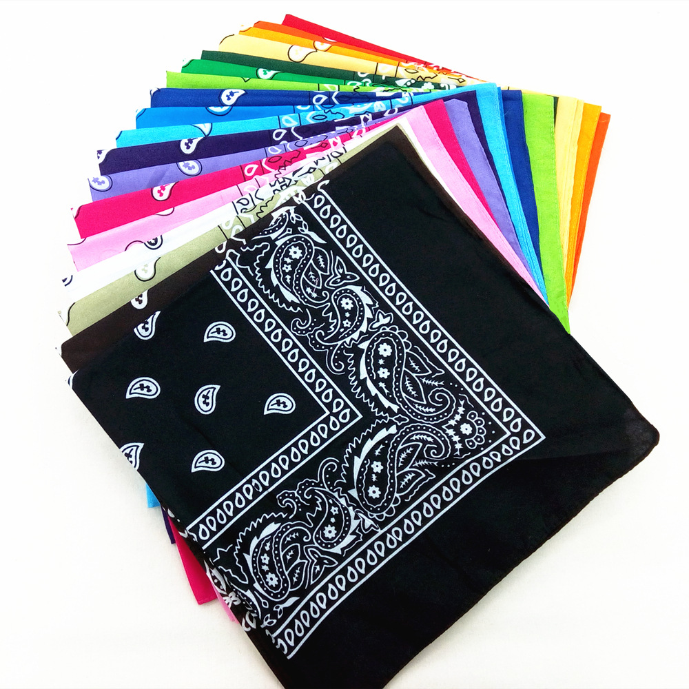 21colors print Mens Bicycle Bandana Scarf outdoor cycling Face Mask Headscarf Male Female Square Head Wrap Scarves Wristband finger print bandana