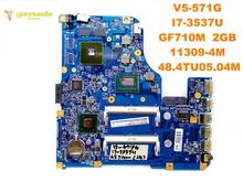 Original for ACER V5-571G laptop motherboard V5-571G I7-3537U GF710M 2GB 11309-4M 48.4TU05.04M tested good free shipping
