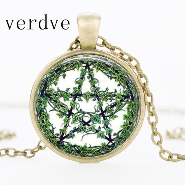 Green Cane Glass Pendant...