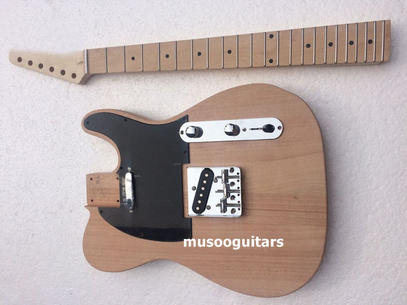 musoo brand electric guitar kit with all parts in guitar from sports entertainment on. Black Bedroom Furniture Sets. Home Design Ideas