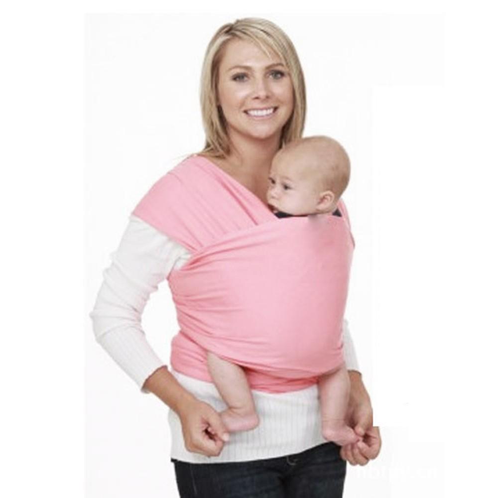 Baby-Sling-Stretchy-Wrap--Newborn-Sling- 100%-Cotton-high-grade-Kangaroo-Infant-Sling--Classic-popular-Carrier -BB0021 (4)