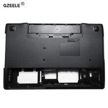 Gzeele capa base inferior para laptop, capa para asus n56 n56sl n56vm n56v n56d n56dp n56vj n56vz