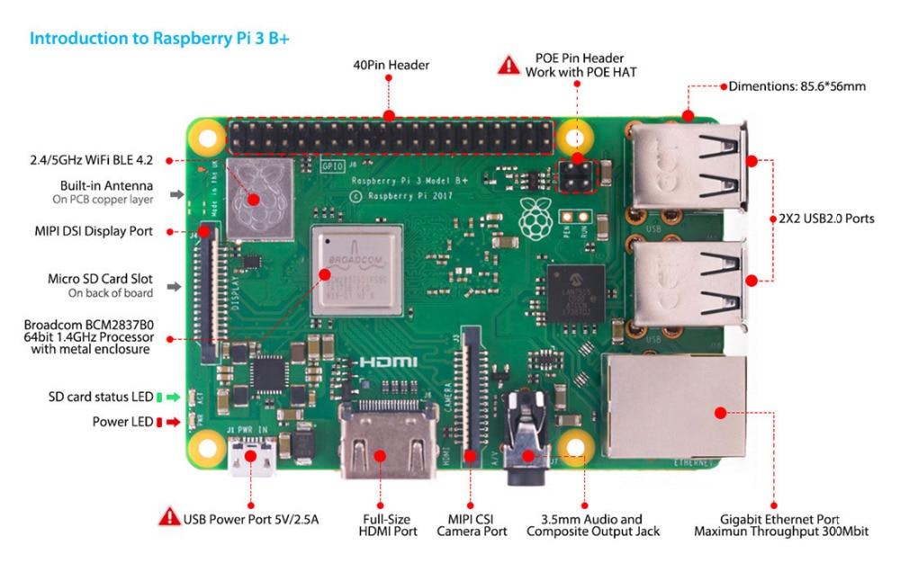 Elektronische Bauelemente Und Systeme Elecrow Crowpi Alle-in-one-design 7 Zoll Hd Touchscreen Kompakte Raspberry Pi Pädagogisches Lernen Kit Diy Computer Starter Kits