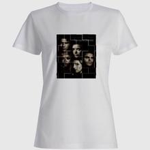 цена на Vampire Diaries Women Tshirt Streetwear Graphic T Shirts T-shirt-women Motorheade T Shirt Venum T-shirt Camisas Mujer Ulzzang