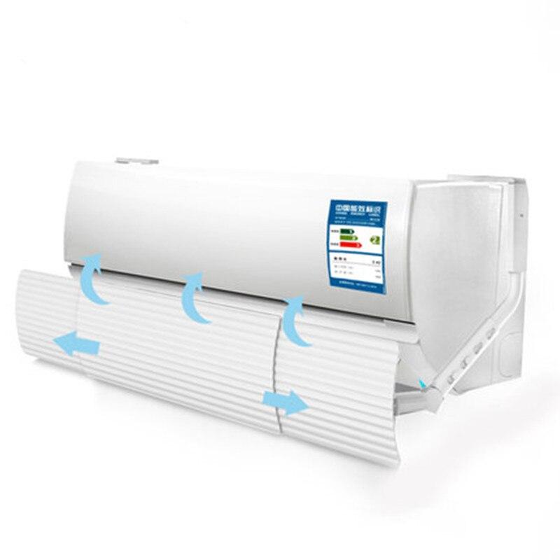 Против прямого выдувания выдвижной кондиционер Ветер щит, вытяжной вентилятор Ветер Дефлектор перегородка кондиционер части