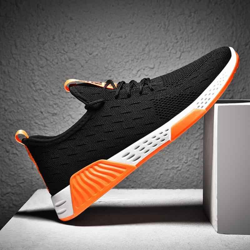 Männer Atmungsaktive Mesh Sport Schuhe Hohe Qualität Casual Schuhe Mode Herbst Sommer Turnschuhe Leichte Laufschuhe