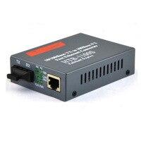1 pair 10/100M Fiber Optic Media Converter Singlemode Single Fiber with SC and 2 RJ45 UTP Port up tp 25km
