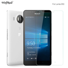 WolfRule 2PCS For Glass Microsoft Lumia 950 Screen Protector Tempered Glass For