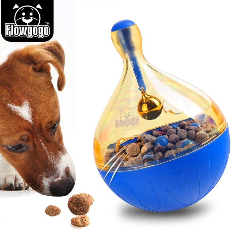 Flowgogo любимая игрушка шар IQ лечения шарик интерактивный Еда дозирования собака игрушка
