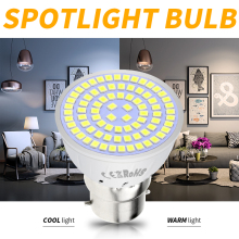 E14 Spotlight Led Bulb E27 Led Spot Light Bulbs MR16 220V Bombillas Led GU10 Corn Lamp SMD 2835 Ampoule B22 Home Lamp 3W 5W 7W hotook led bulbs lamp e27 lampada light 3w 5w 10w rgb dimmable lighting bombillas lamparas ampoule spotlight ball remote control
